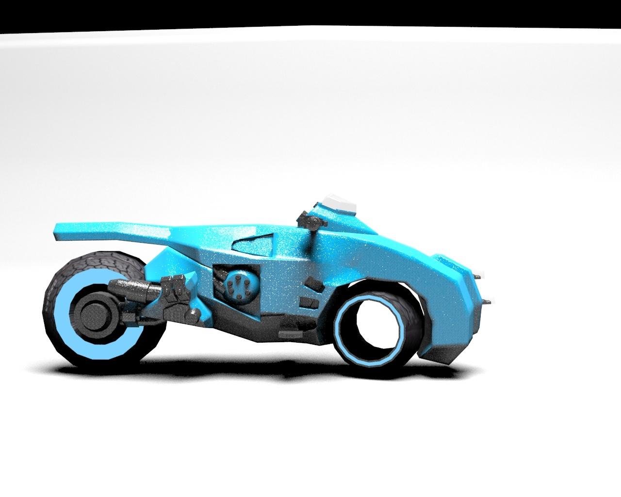 科幻摩托车