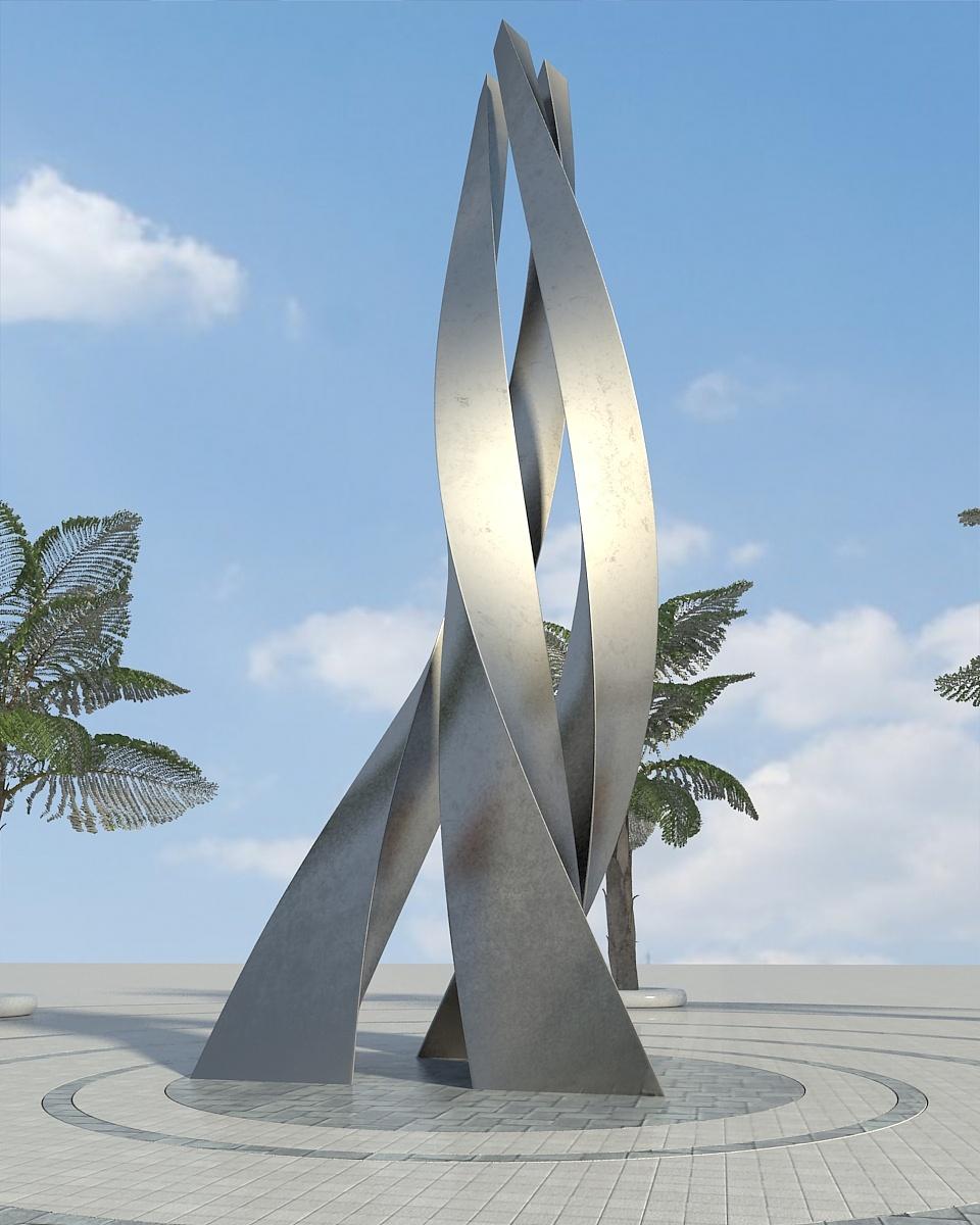 专业雕塑设计袂景观的v专业广告设计图片