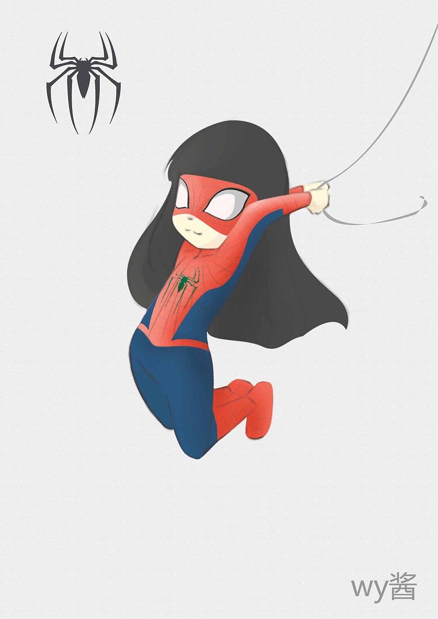 小q版 最喜欢蜘蛛侠 蝙蝠侠啦