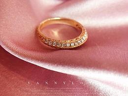 梵尼洛芙珠宝 | 复古时尚婚戒【倾慕】