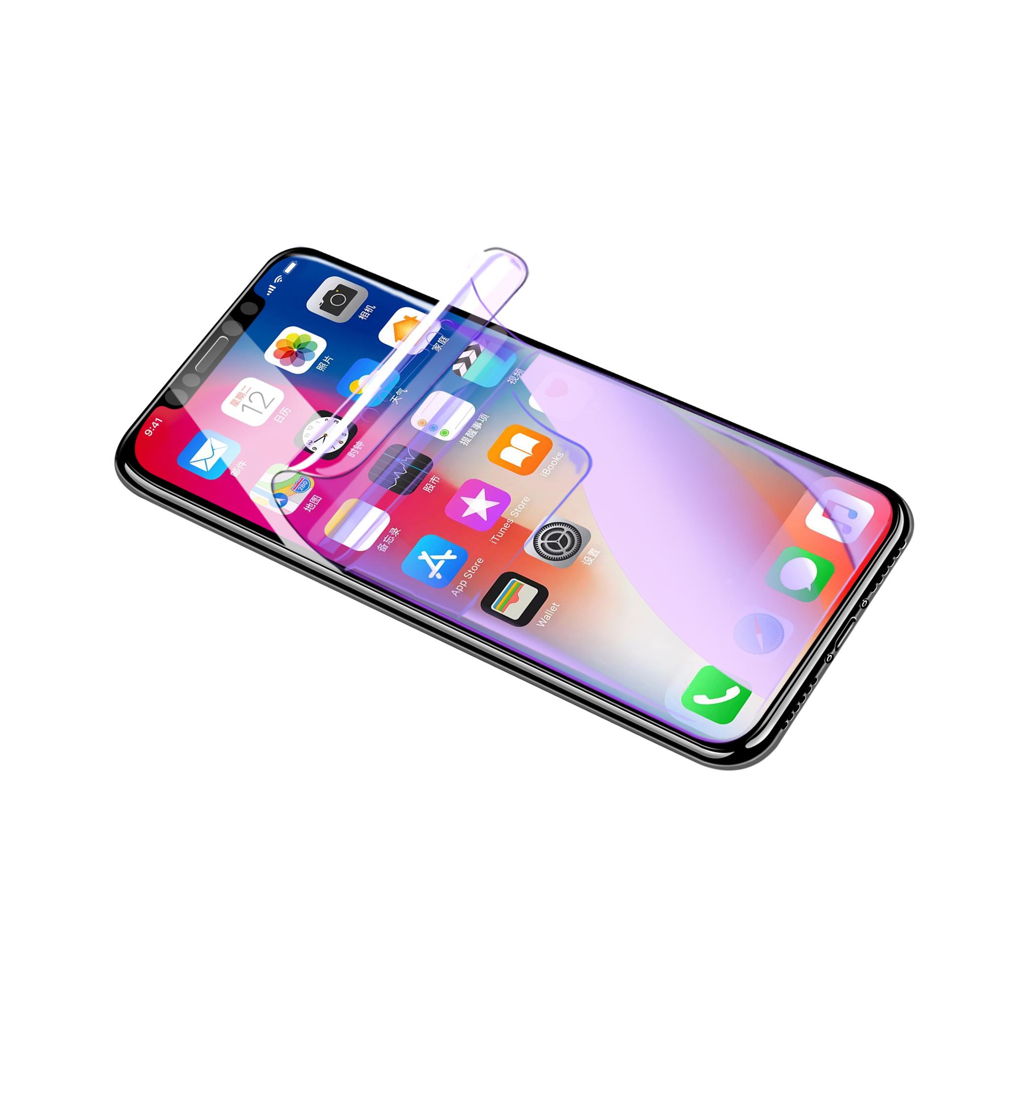 iPhoneX苹果手机产品精修修图水凝膜钢化膜背面侧面|网页|电商|Davis丶 - 原创作品 - 站酷 (ZCOOL)