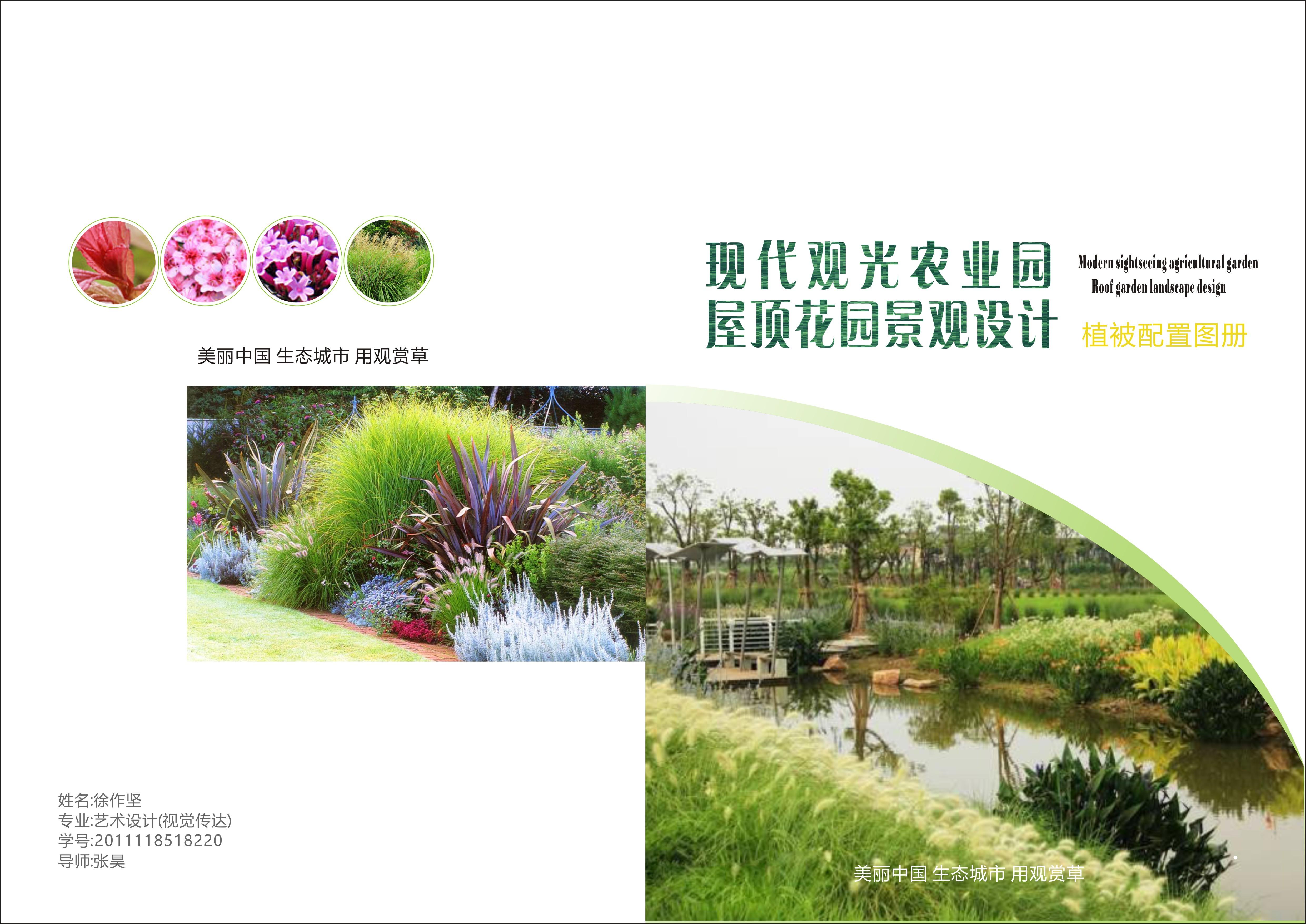 配合屋顶花园绿化植被用量品种介绍手册