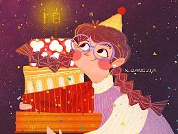 《祝处女座的我生日快乐》