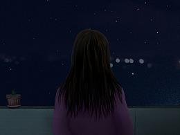 你有多久没有看过星星