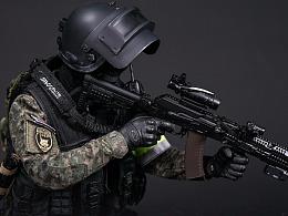 """俄罗斯联邦内务部MVD - SOBR""""LYNX/山猫""""特种部队"""