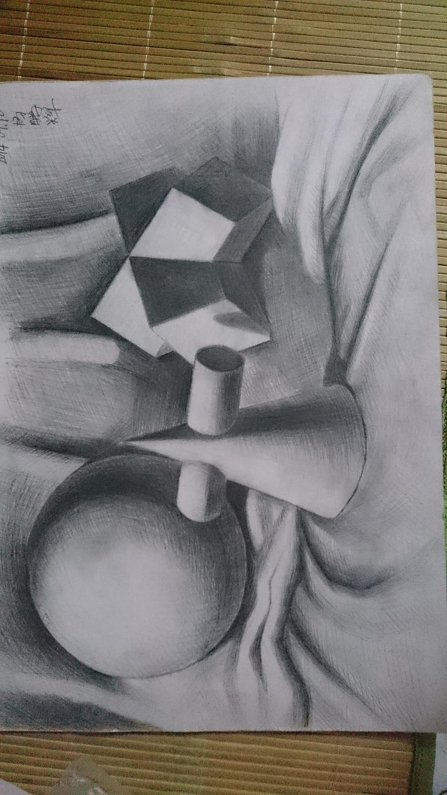 素描美术|绘画习作|插画|十三元素图片