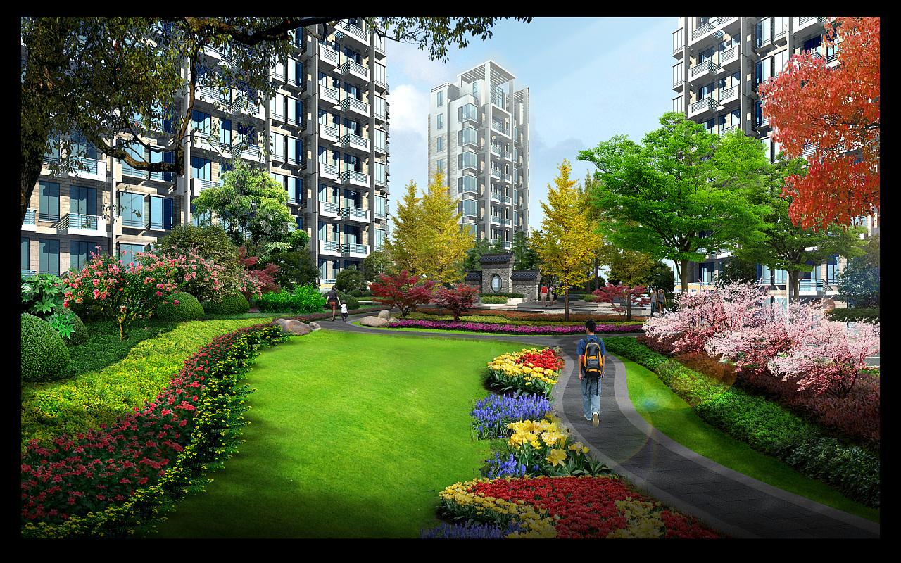 住宅景观图片
