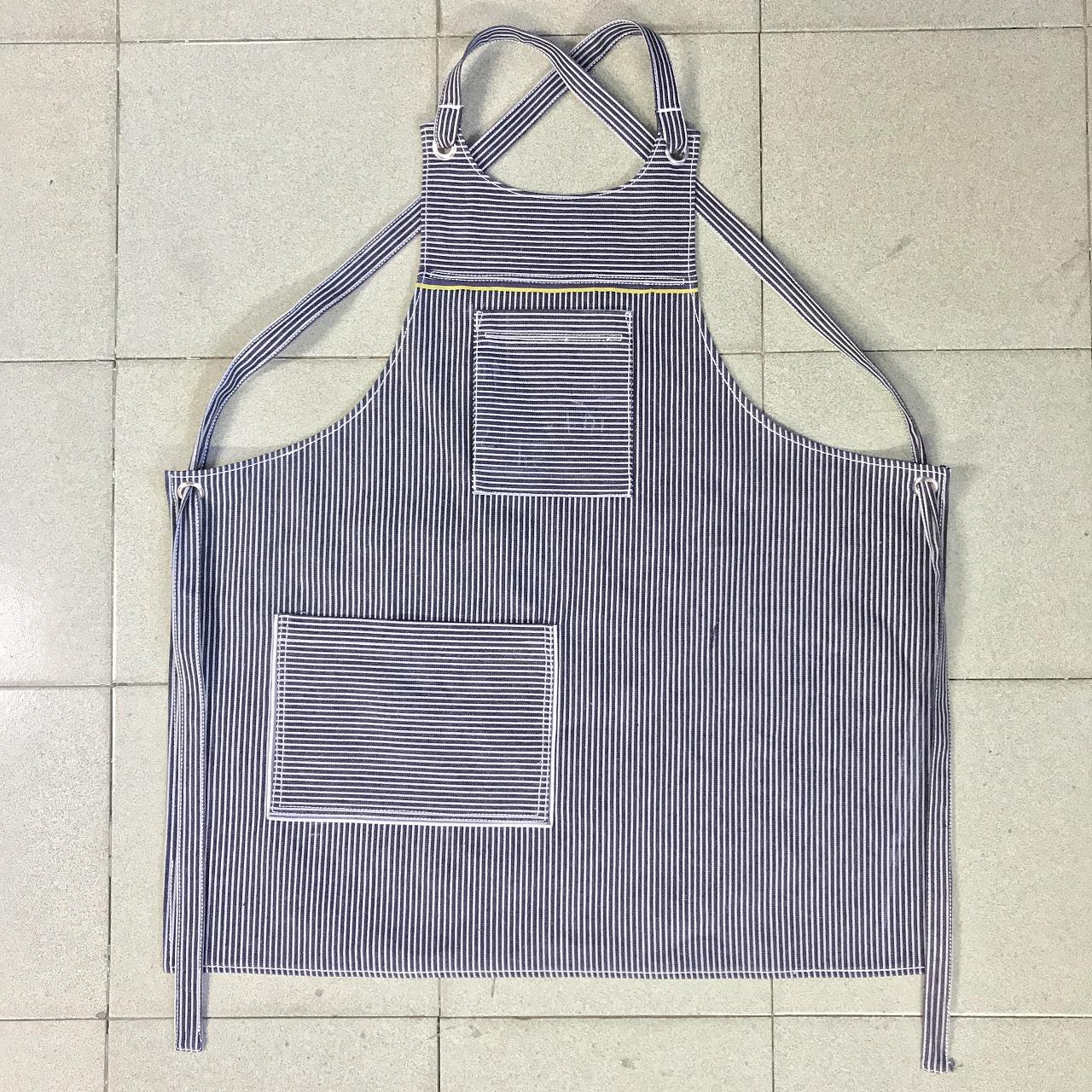 纯手工手工围裙,用料牛仔等,设计 纸样 制作