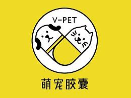 V-PET 萌宠胶囊公众号版式设计/VI 设计/吉祥物设计