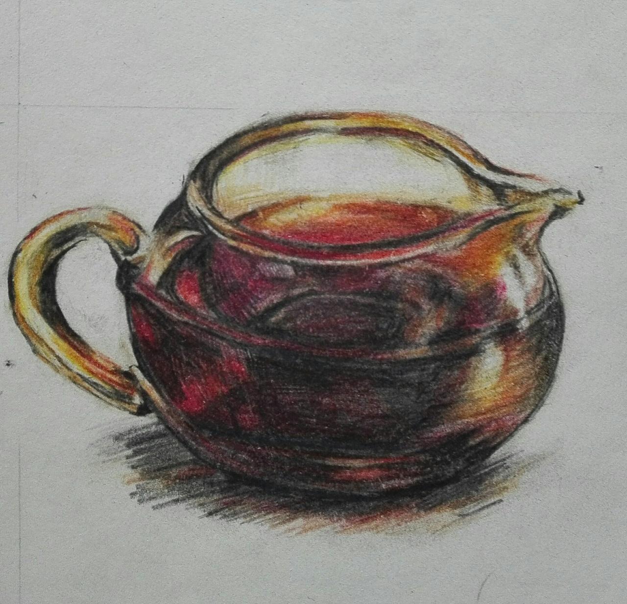 普洱茶手绘