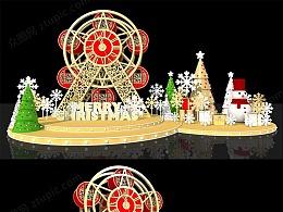 圣诞节美陈设计