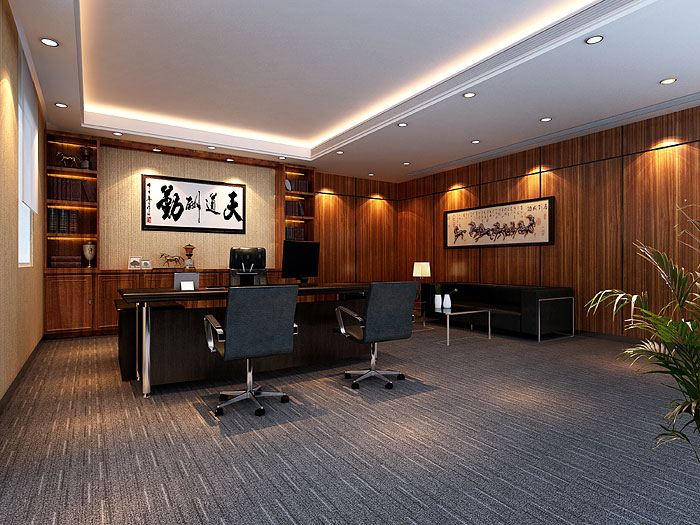 东兴证券公司广州写字楼装修设计 写字楼装修
