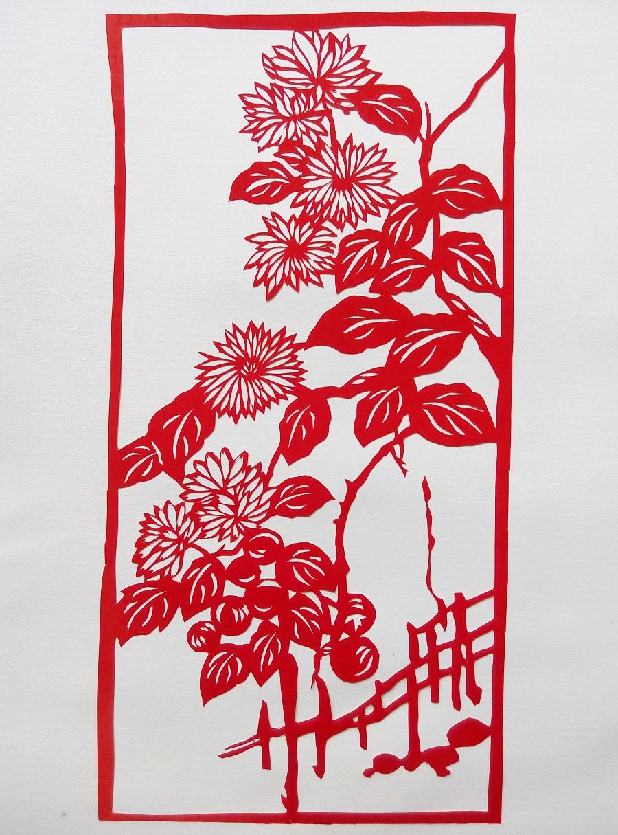 剪纸|其他手工|手工艺|轻松的使命 - 原创设计作品