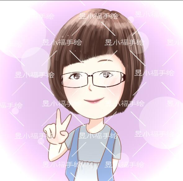 【卡通形象设计】-短发女孩最阳光