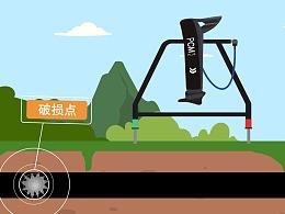 中石油-管道检测设备操作使用 动画