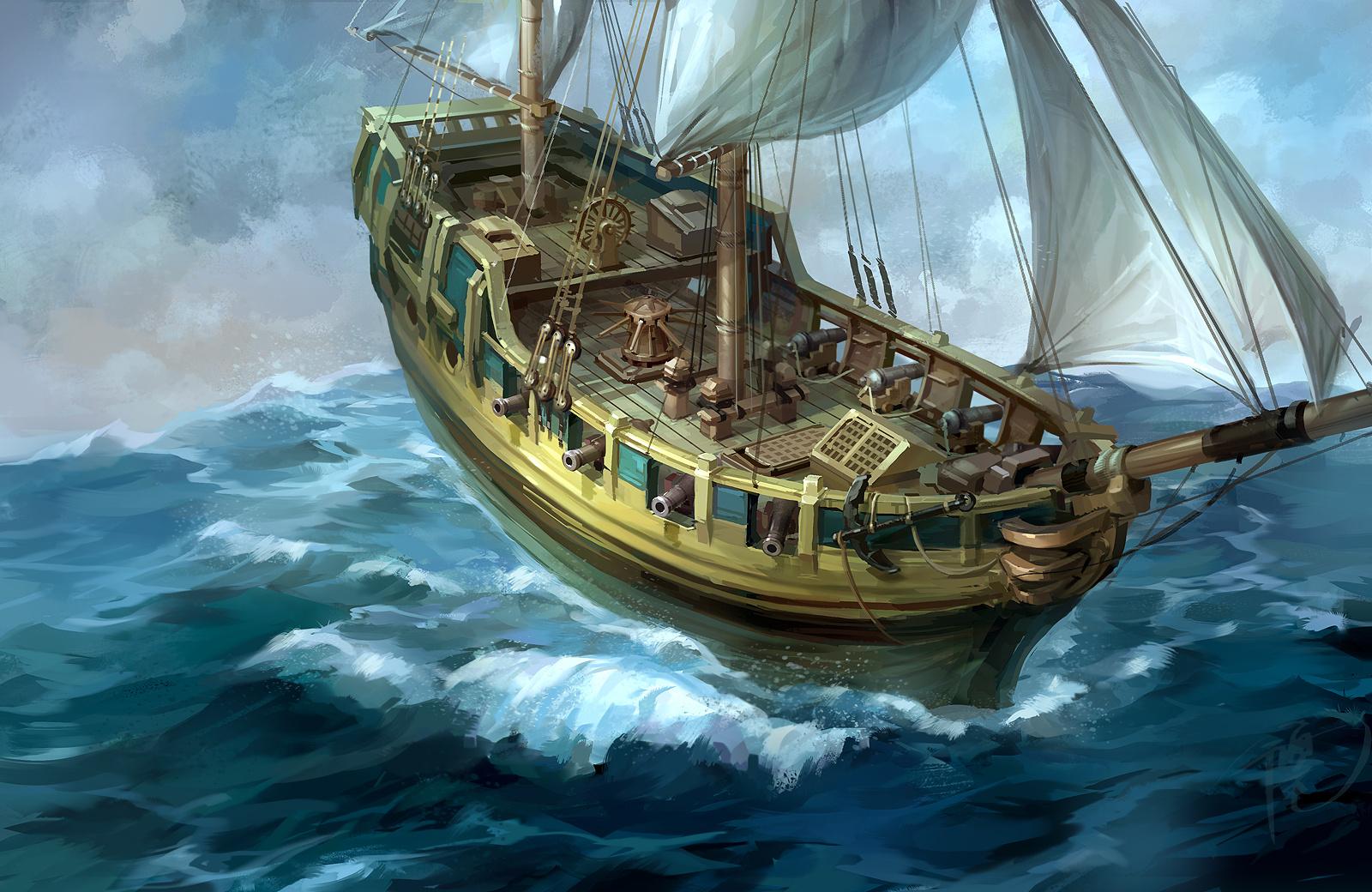 加勒比海盗之小商船