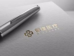 德璞医疗LOGO设计——金与彥设计