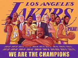 虹色映畫-Lakers Champion