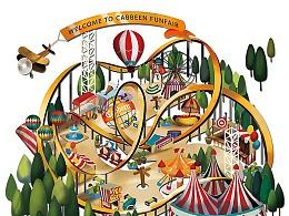 游乐园主题大型时尚发布会设计专题