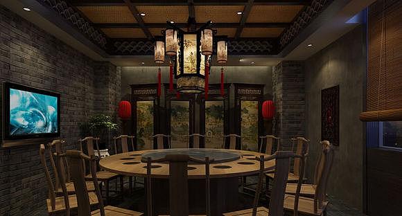 《川西坝子火锅店装修设计》——成都专业川西坝子火锅店装修设计图片
