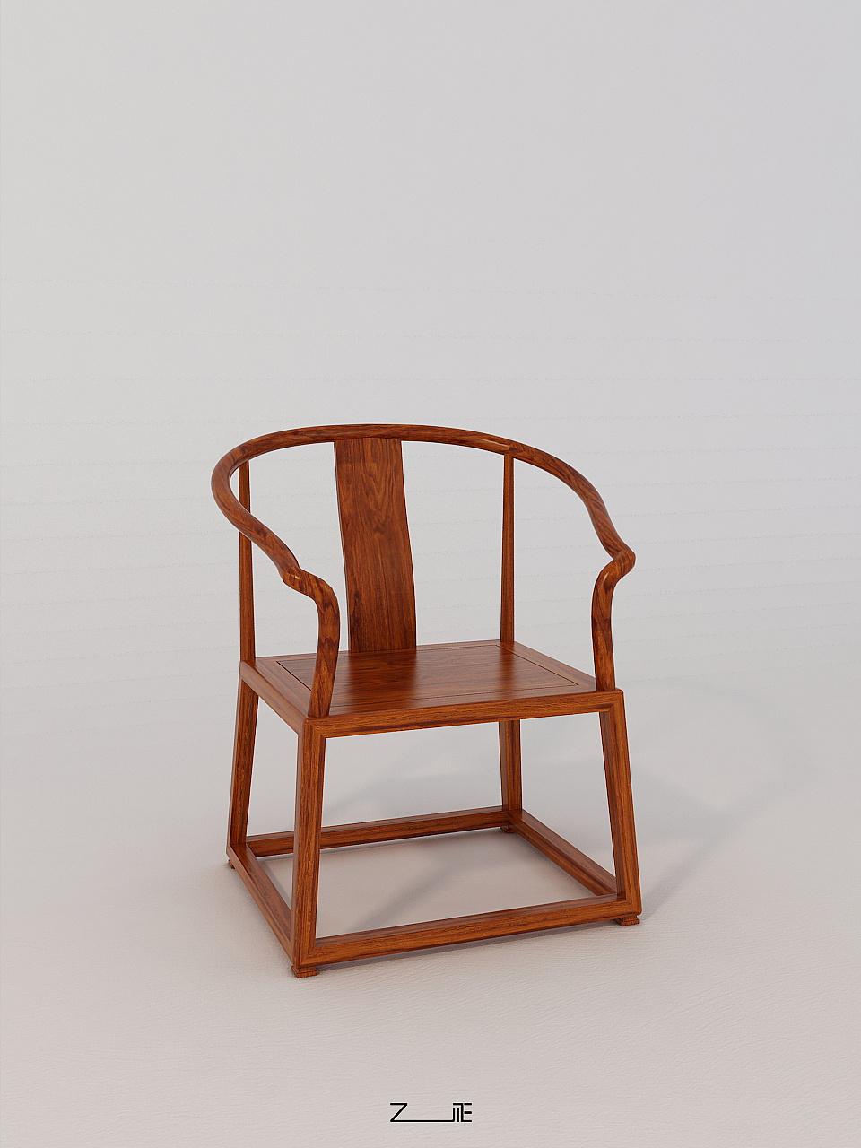 新中式家具-休闲椅图片