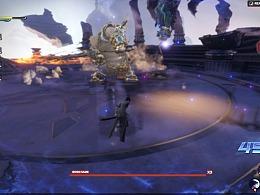 《龙剑》战斗界面预研