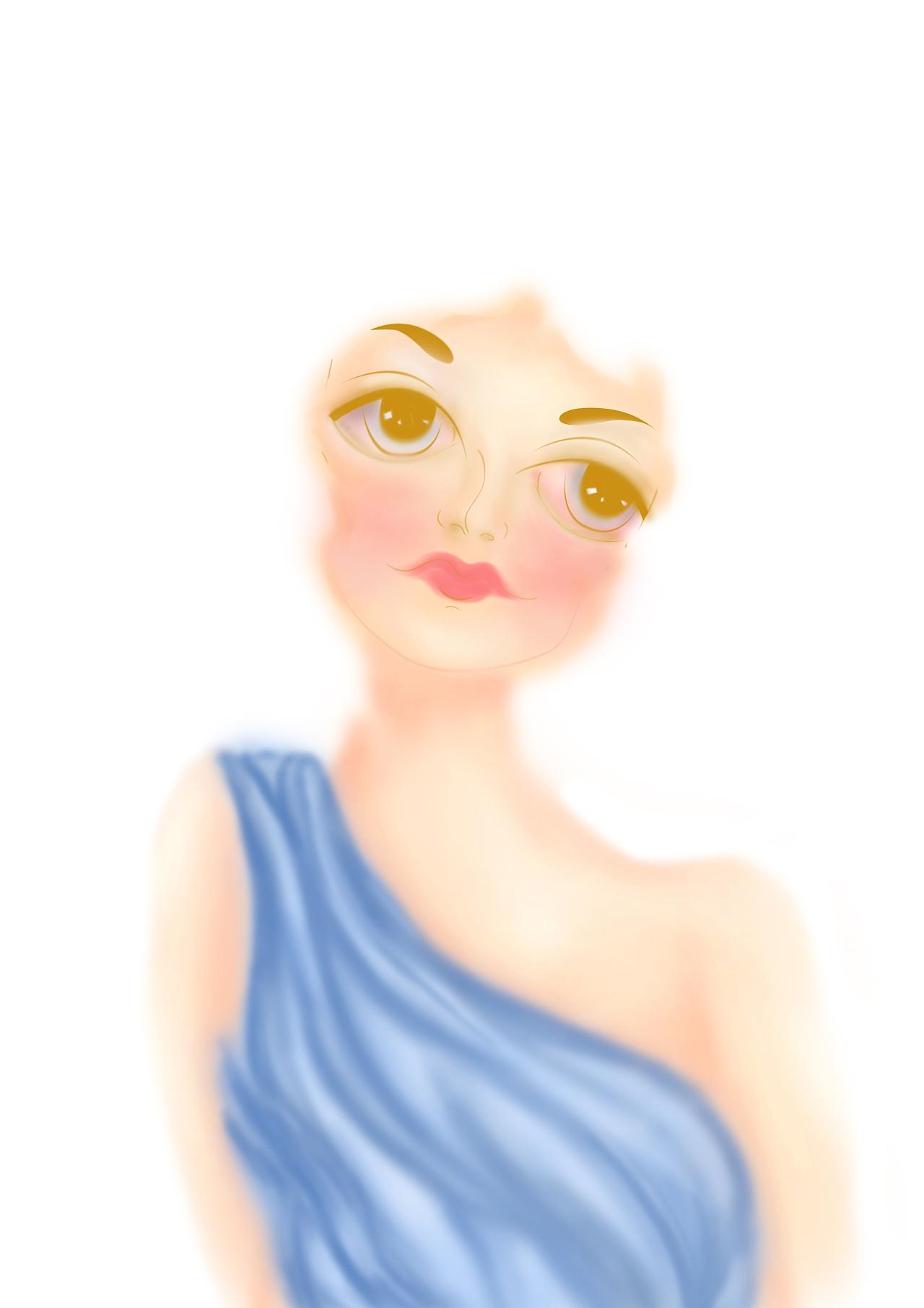 绘画人像|平面|图案|池王思 - 原创作品 - 站酷