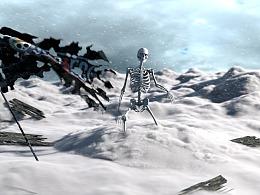 houdini17 雪地骷髅综合案例制作