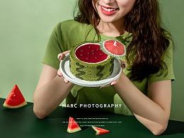 黑池西瓜蛋糕