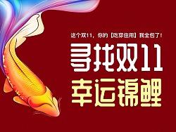 双11幸运锦鲤+天猫超级样板间