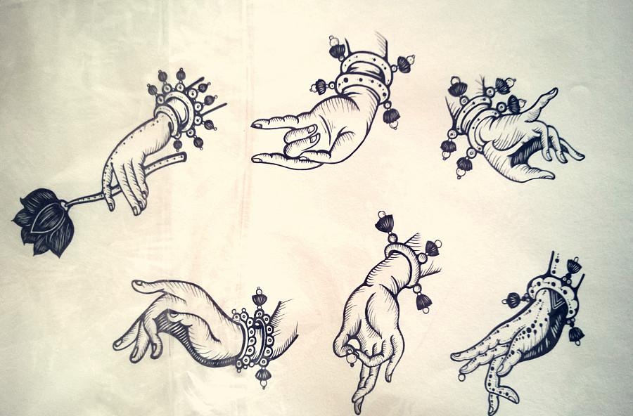 针管笔手绘小练笔|其他绘画|插画|布耶楚克安吉尔曼