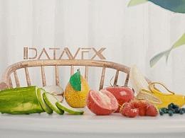 三维特效水果材质流程渲染测试