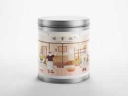 【 滕掌柜Homecoffee 】包装插画