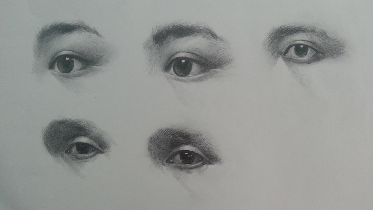素描手绘作品展示