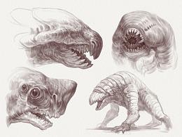 Creature Concept / Feb.Prat1