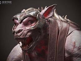 大狼人 怪物 3D作品
