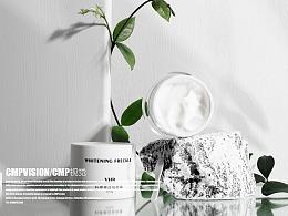 美白祛斑霜产品图拍摄