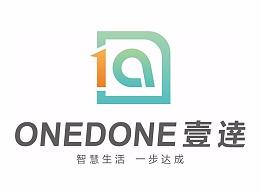 壹逹智能家居 logo