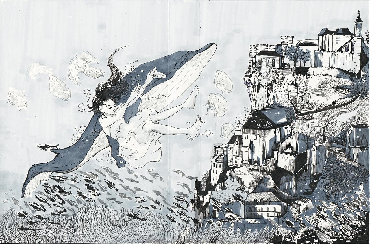 手绘封面|插画|其他插画|miujiii - 原创作品 - 站酷