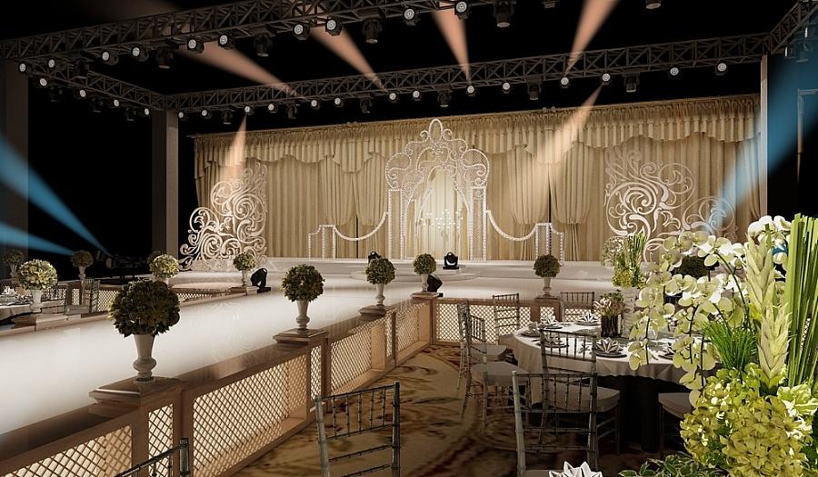 欧式婚礼氛围布置|舞台美术|空间/建筑|leihuali