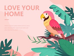 LOVE YOUR HOMR-迷失森林
