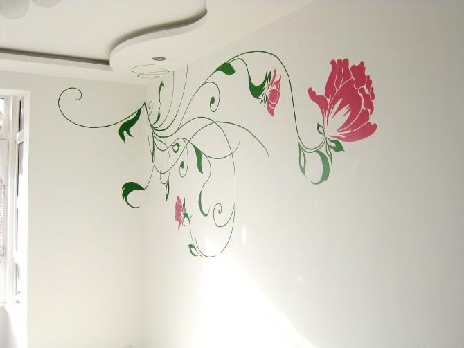 原创作品:手绘墙画