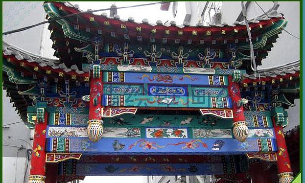 山东寺庙彩绘古建筑青岛青露作品--诠释古典气息