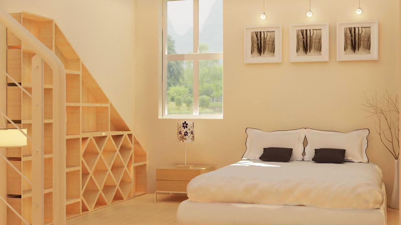 3d max 卧室设计效果图|空间|室内设计|看不见的小镇