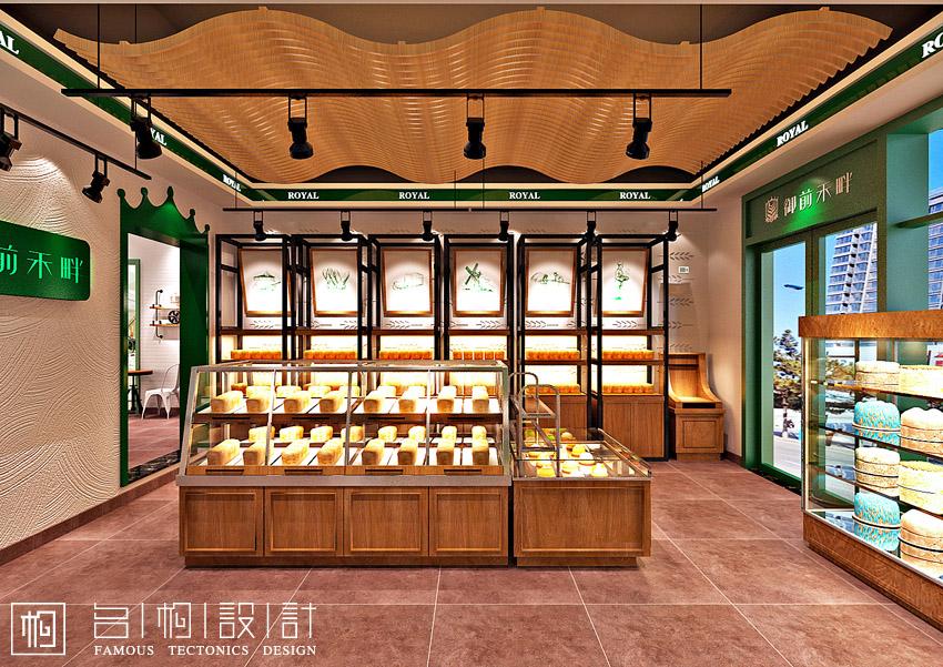 黑龙江御前禾畔蛋糕店装修设计方案|展示/橱窗/店面