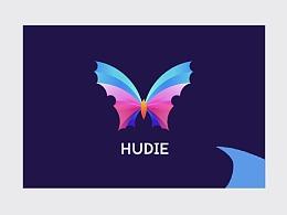 黄金比例+yoga风蝴蝶logo设计思路分享