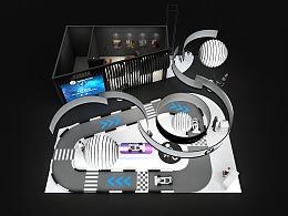 2019CES segway展台设计搭建方案