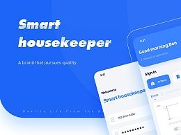 Smart housekeeper/智能家居产品(概念设计)