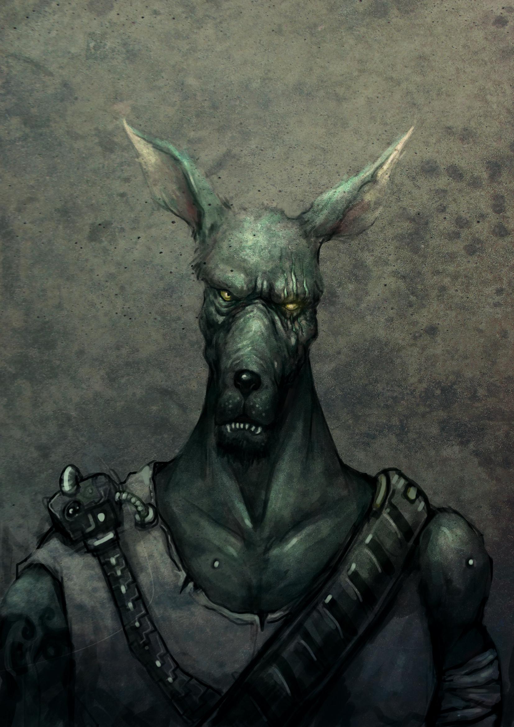 鬃岩狼人-WOLF