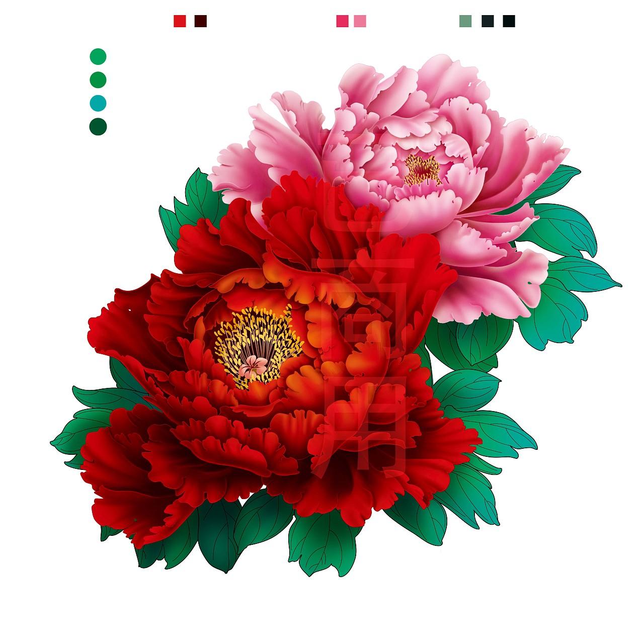 大红花-中国风